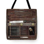 Lincoln Autopsy Kit, 1865 Tote Bag