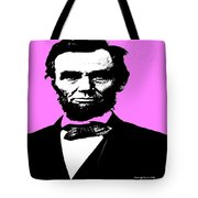 Lincoln Tote Bag by George Pedro
