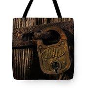 Lincoln Lock Tote Bag