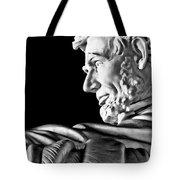 Lincoln Profile Tote Bag