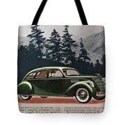 Lincoln Zephyr 1936 Tote Bag