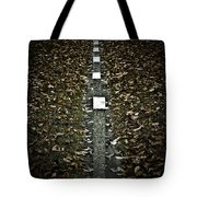Line Of Death Tote Bag