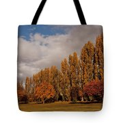 Line Of Trees Tote Bag
