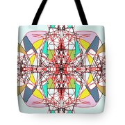 Linear Array Tote Bag