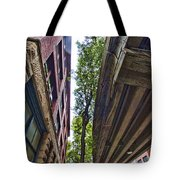 Lines And Trees Tote Bag