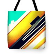Lines Of The Overhang Tote Bag