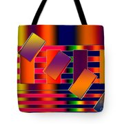 Lines Two Tote Bag