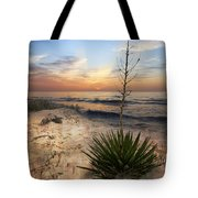 Linger By The Sea Tote Bag