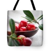 Lingonberries Tote Bag