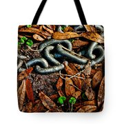 Links And Leaves Tote Bag