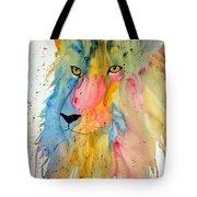 Lion Head 3 Tote Bag