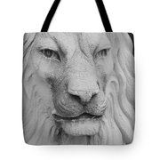 Lion In Stone Tote Bag