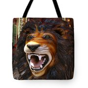 Lion Merry Go Round Animal Tote Bag