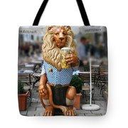 Lion Of Beer Tote Bag