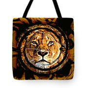 Lioness Face Tote Bag