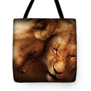 Lioness Love Tote Bag