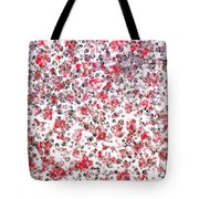 Lipstick And Eyeliner Abstract Tote Bag