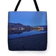 Liquid Blue Reflections 1 Tote Bag
