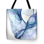 Liquid Blue Tote Bag