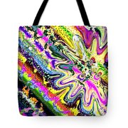 Liquid Clam Tote Bag