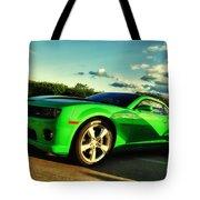 Liquid Green Tote Bag