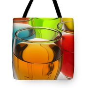 Liquor Glasses Tote Bag