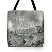 Lisbon Tsunami, 1755 Tote Bag