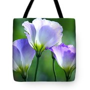 Lisianthus Number 5 Tote Bag