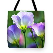 Lisianthus Number 6 Tote Bag