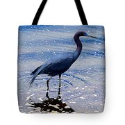 Lit'l Blue Tote Bag