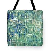 Little Blue Diamonds Tote Bag