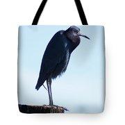 Little Blue Heron I Tote Bag