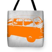 Little Bus Tote Bag by Naxart Studio