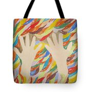 Little Creative  Hands Tote Bag