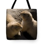 Little Dogs On The Prairie Tote Bag