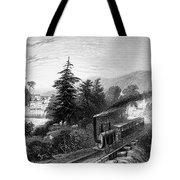 Little Falls: Railroad Tote Bag