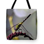 Little Green Wings Three Tote Bag