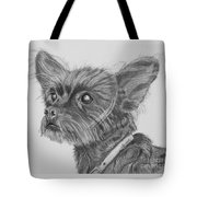 Little Heartbeat At My Feet Tote Bag
