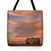 Little House On The Colorado Prairie Tote Bag