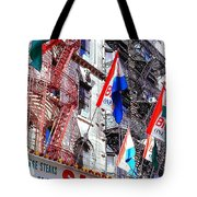 Little Italy In Color Tote Bag