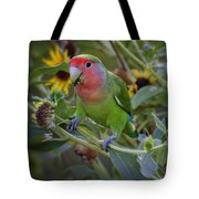 Little Lovebird Tote Bag