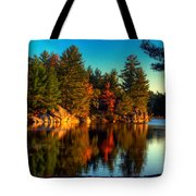 Little Mellon Lake One Tote Bag