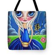 Little Miss Muffet Tote Bag