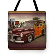 Little Old Woody Tote Bag