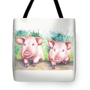Little Piggies Tote Bag