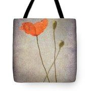 Little Poppy Tote Bag
