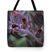 Little Red Blossoms Tote Bag