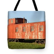 Little Red Caboose Tote Bag