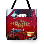 Little Red Exprees Door Hdr Tote Bag