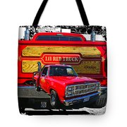 Little Red Express Dbl Hdr Tote Bag